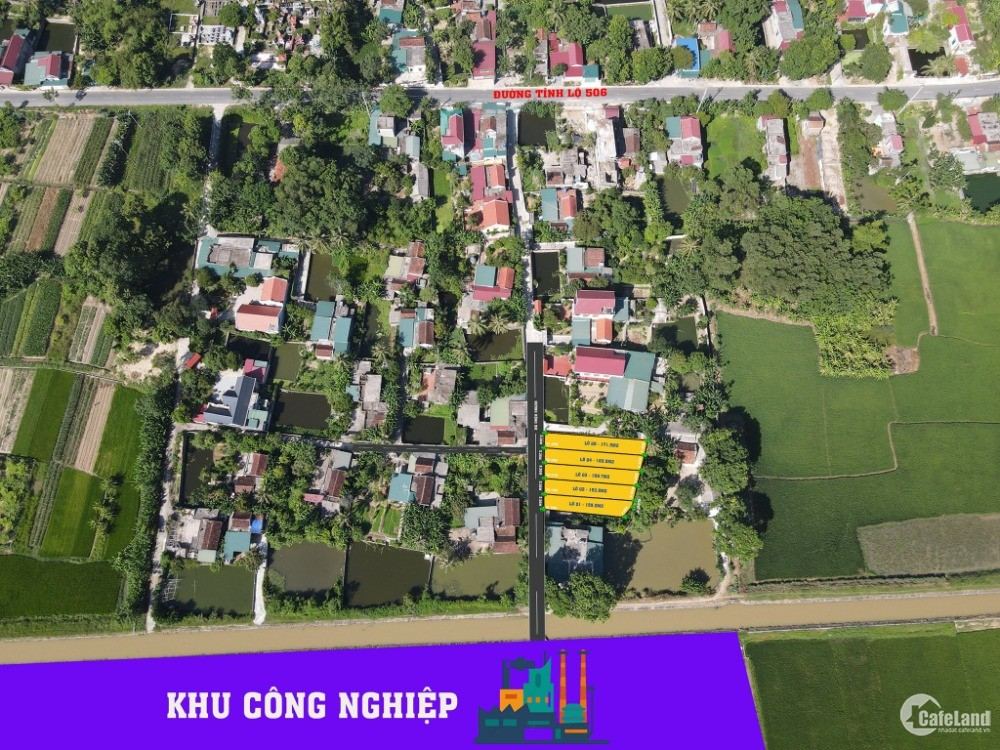 Đất Thổ Cư Gần Cụm KCN Tại Tân Khang - Nông Cống