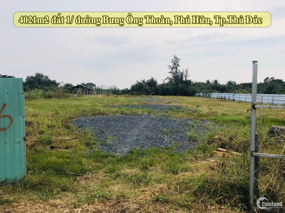4021m2 đất hẻm đường Bưng Ông Thoàn, Phú Hữu Khu Samsung Village 1,2,3,5