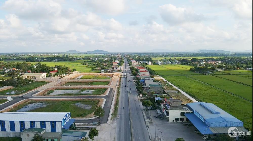 Khu đô thị mới Quảng Ninh, mặt tiền QL1a