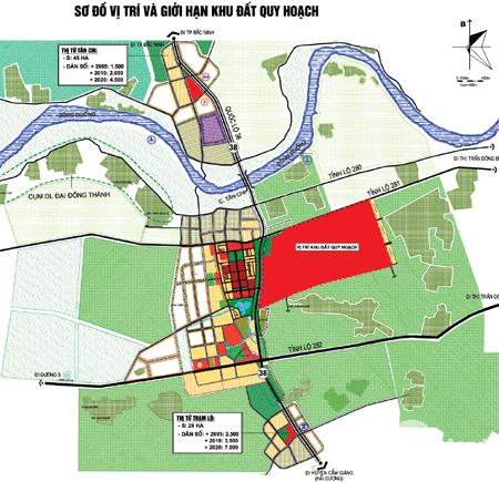 Chuyển nhượng lô đất 10ha KCN Thuận Thành 3 giá 92$/m2. Lh 0988 457 392