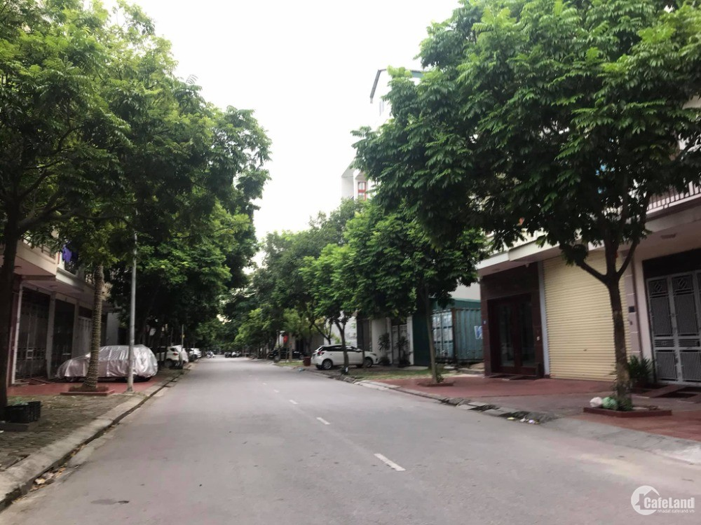 Bán đất mặt phố Ngô Bệ, TP HD, 76.2m2, mt 4.5m, đường 17.5m, vỉa hè 5m cực rộng