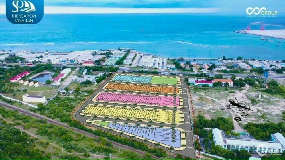 The Seaport chỉ 1 tỷ/lô - Đất nền Bình Thuận cạnh cảng biển quốc tế, trên QL 1A