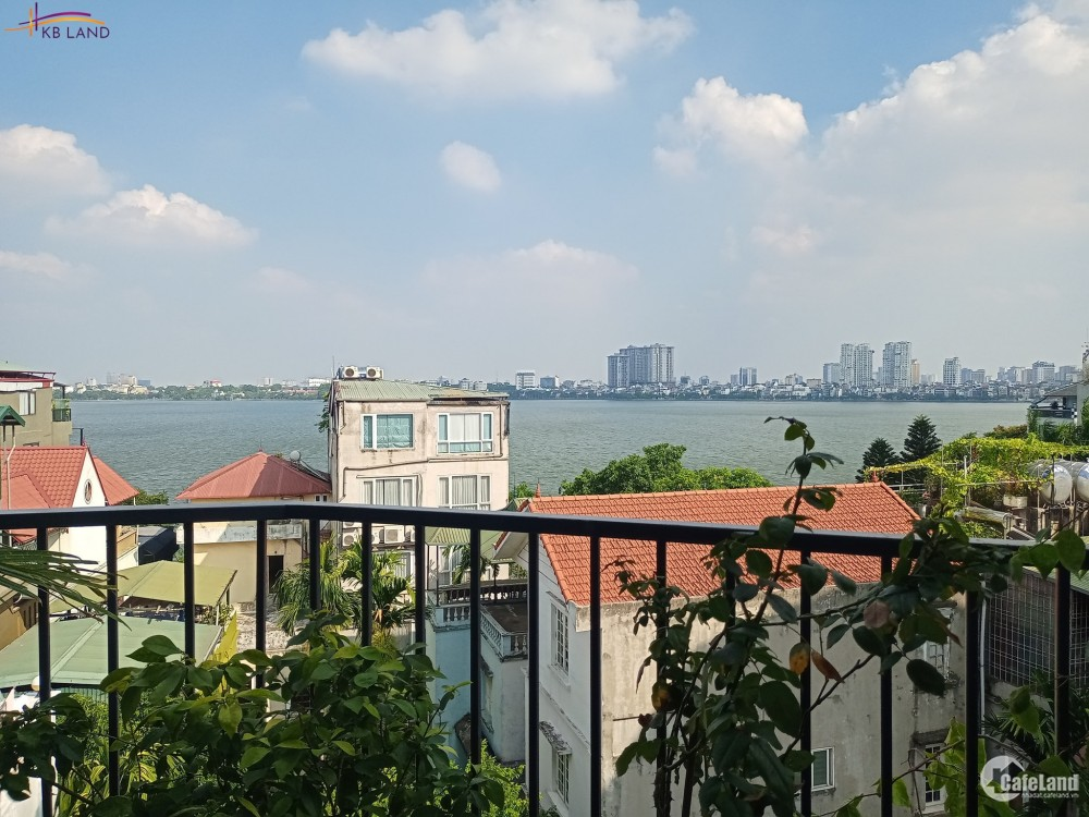 Bán CHDV Quảng Khánh, 96m2, 8T, 7 căn hộ, view hồ Tây, 800USD/phòng