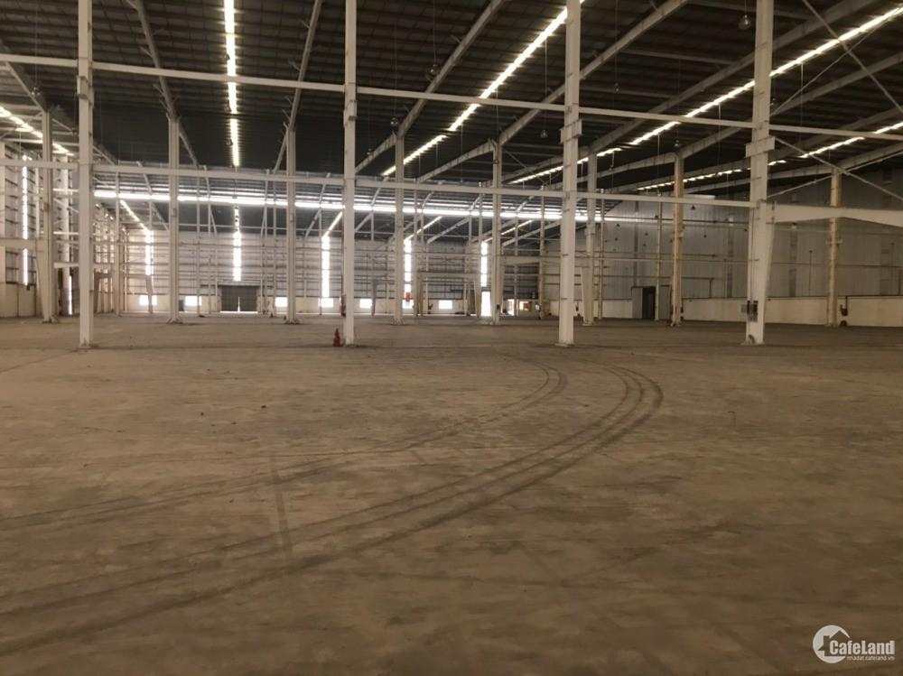 Cho thuê kho xưởng KCN Cho  Sơn, DT 12000m2 phù hợp làm kho/ xưởng. LH 0988 457