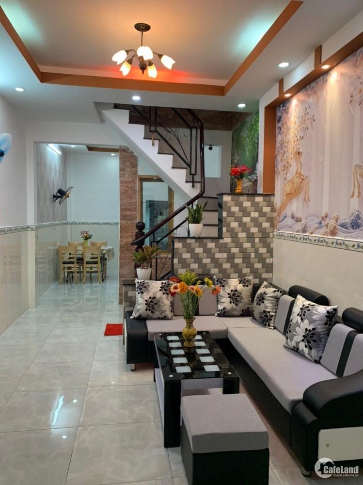 Cho thuê nhà HXH Bùi Quang Là, P12, Gò Vấp, 3.7x13m, 1 trệt, 1 lầu, 7 triệu/ thg