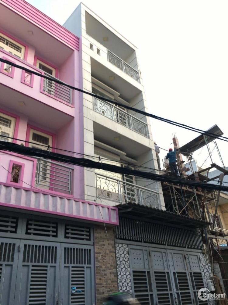 Cho thuê nhà HXT Đường số 59, P14, Gò Vấp, 4x15m, 1 trệt, 2 lầu, ST, 12 triệu/th