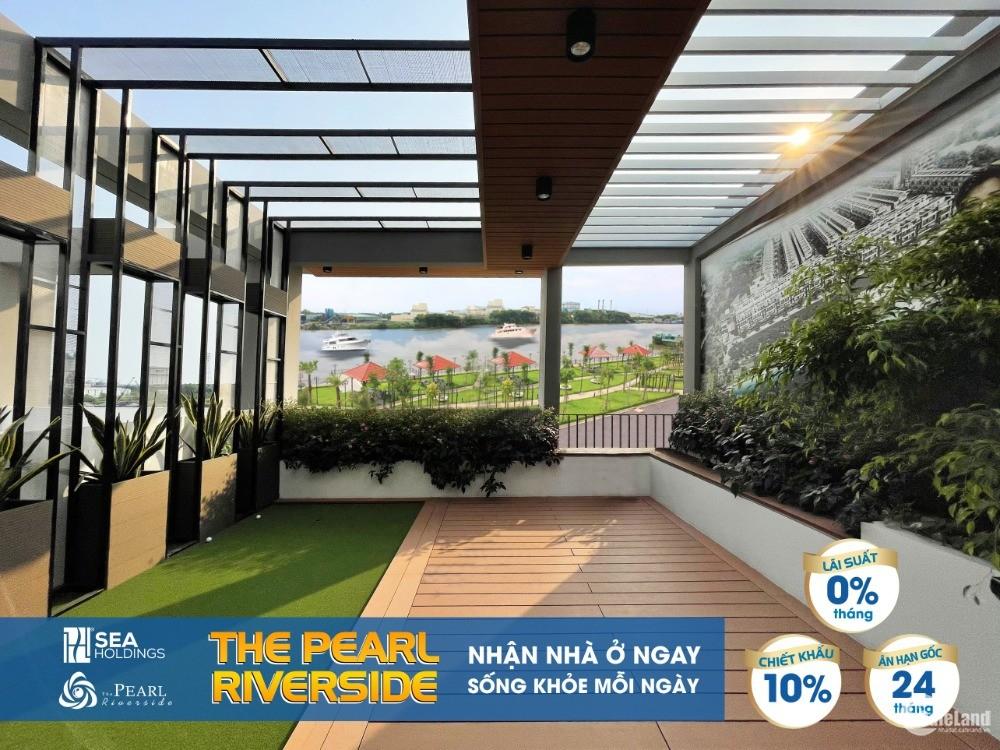 The Pearl Riverside - Căn góc nhà phố liền kề bên sông ngay TT chỉ với 2.2 tỷ