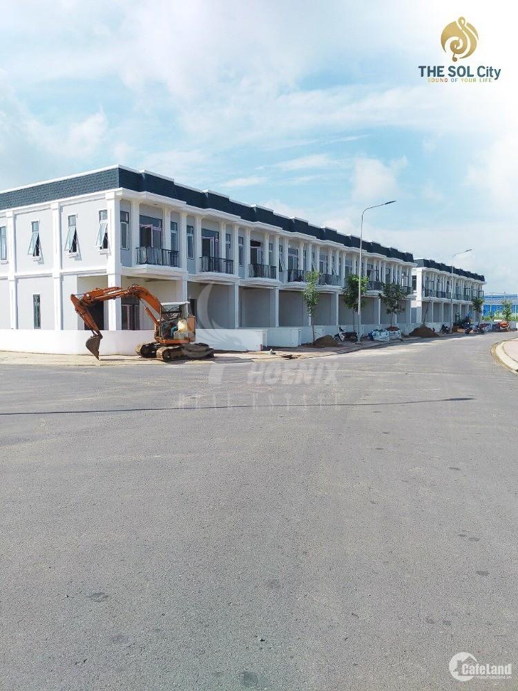 Bán 5 suất nội bộ dự án The Sol City cạnh chợ Hưng Long, Bình Chánh, SHR