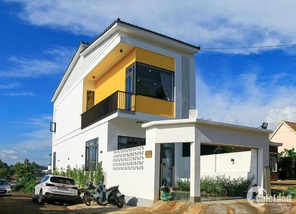 Nhà 2 Tầng đầy đủ công năng hiện đại góc 2mặt tiền ở thôn 6 Cưebua 2.85 tỷ