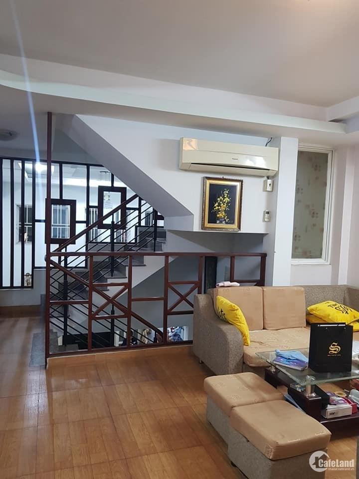(Gò Vấp)Bán nhà đẹp,hẻm 8m thông, Dương Quảng Hàm,55m2, 5tầng,7.8tỷ.