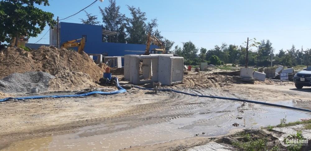 Đất nền dự án Coco Aqua Riverside hạ tầng 70%, view sông giá 14 tr/m2