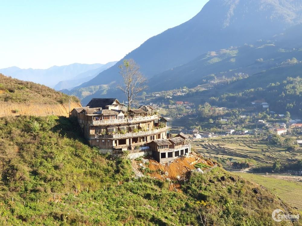 Bán homestay mặt TL 152 Sapa view  thung lũng Mường Hoa giá cắt lỗ