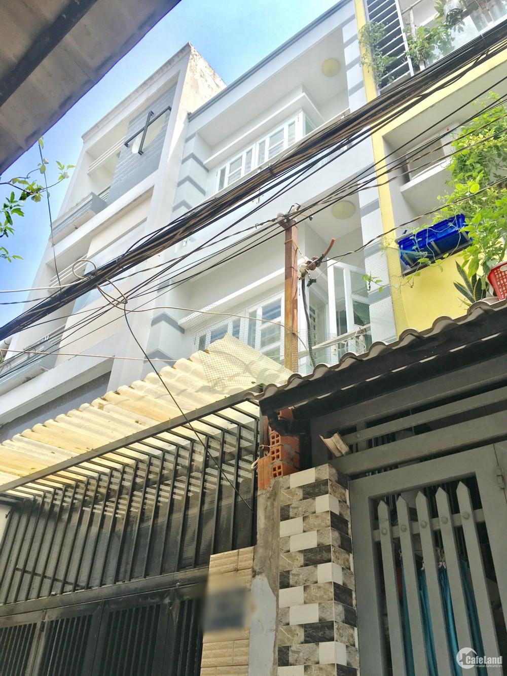 Nhà bán 57m2 đường Hưng Phú Phường 9 Quận 8