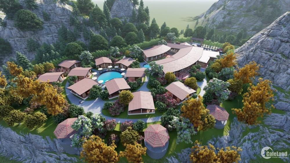 Cho thuê Resort 5 sao 8000m2 tại trung tâm Khu du lịch Mộc Châu, free 3 tháng