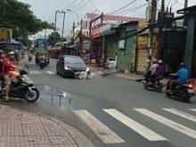 Nhà mặt tiền 5m x 44m, đường Bình Long, Q.Tân Phú.( giá 20tr/th)
