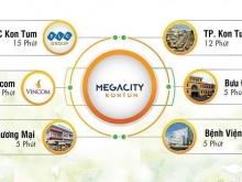 5 Suất ngoại giao liền kề, cạnh công viên, giá rẻ dự án Mega City Kon Tum