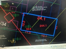 Đất Bình Chánh 740 mét vuông. Mặt tiền đường Thanh Niên
