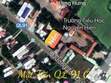 Mặt tiền quốc lộ 91 Ngay uỷ ban Phường Long Hưng Ô Môn