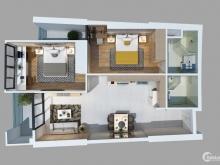 Bán căn hộ 2 phòng ngủ view biển, tầng cao dự án GATEWAY