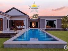 Biệt thự nghỉ dưỡng biển Coastar gần Casino Hồ Tràm dt 1000m2 giá chỉ từ 8tr/m2
