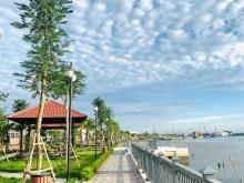 Nhà Phố Ven Sông hưởng trọn 2 mặt tiền Sông Vàm Cỏ và Đường Nguyễn Văn Tuôi