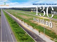 Đất đấu giá nhà nước dự án Mega City Kon Tum 230Tr/170m2