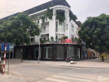Cho thuê MB tầng 1 lô góc mặt phố Văn Khê KĐT Văn Phú, 2 MT, đường 42m