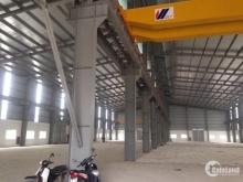Cho thuê kho xưởng DT 4100m2 KCN Quất Động, Thường Tín, Hà Nội.