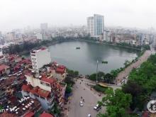 Bán  2 căn chung cư view hồ Nam Đồng,  phố  Hồ Đắc Di  tầng 2 và 5, B1