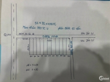 Bán Đất 2 Mặt tiền Nhựa  57x30x400TC - cách QL14 chỉ 300m Giá 75Tr/m Mặt tiền.
