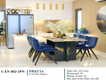 Căn 2 phòng ngủ precia , tầng đẹp, giá gốc CĐT, chiết khấu 2% và tặng vàng PNJ