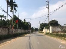 Bán đất 11m mặt đường nhựa gần công nghệ cao Hòa Lạc giá chỉ nhỉnh hơn 9 triệu/m