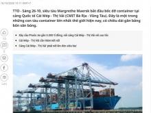 Đất đầu tư Phú Mỹ dẫn thẳng ra cảng Cái Mép. DT 519m2 giá rẻ đầu tư 2,2tr/m2