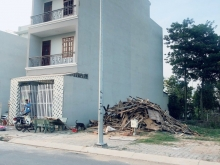 Bán đất nhà phố KDC Tân Tạo,Thổ cư 100%,sổ hồng riêng,đường 20m