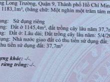 Bán lô đất 30x40 đường Võ Văn Hát, Quận 9, 28 tỷ