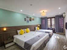 Cho thuê khách sạn 7 tầng tại Hàng Mành mặt tiền 4m, 60m2/sàn giá 65tr/tháng