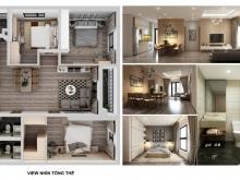 Bán căn hộ 3Pn, 2WC, 96m2 chung cư cao cấp DABACO Huyền Quang, p.Võ Cường, tp Bắ