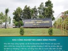 BÁN ĐẤT 2 MẶT TIỀN GIÁ CHỈ 140 TRIỆU/M, Ngay cổng KCN BECAMEX