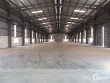 Cho thuê kho xưởng 1800m2 tại KCN Tiên Sơn, Giá 75k/m2