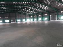 Cho thuê nhà xưởng tại KCN Đình Trám, DT 3400m2, xưởng độc lập có thể đăng ký PE