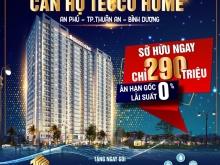Bán căn hộ mặt tiền đường trung tâm Bình Dương chỉ từ 300tr căn 2pn giá gốc CĐT