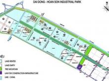 Đất KCN Đại Đồng giai đoạn 2 dt  96ha, dt 1ha, 15ha, 3.7ha Lh 0988457392