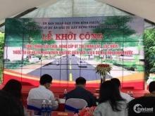 Khởi Công Mở Rộng Đường DT756 - Bán 4 nền Mặt tiền DT756, Minh Lập