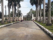 Bán biệt thự mặt tiền long thuận dt 55 x 120m đối diện dự án vinhome grand park
