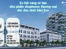 """Sắp ra mắt shophouse Solaria Center Sầm Sơn:""""Ngọc sáng xứ Thanh"""""""