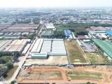 Đất trung tâm TP Thuận An 75m2 thổ full giá 920tr,  mặt tiền đường bình chuẩn