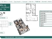 Bán căn 3PN đẹp nhất dự án Feliz Homes giá chỉ 27tr/m2