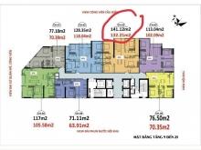 Luxury Park View - Còn căn duy nhất 3PN/131m2 tầng 25 giá 5.7x tỷ.