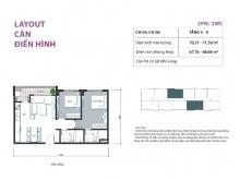 (Hiếm) Nhượng suất mua căn hộ 2PN 68m2 2 tỷ mặt đường Định Công, chỉ còn 7 căn!