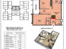 Bán gấp căn hộ 2PN 75,5m2 giá chỉ 2,79 tỷ mặt đường VĐ3, dọn đồ vào ở ngay!